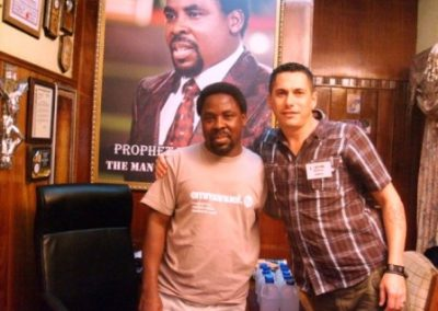 Ps Jakes with Prophet T_B Joshua